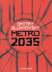 Métro T.3 ; métro 2035 - Couverture - Format classique
