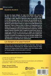 Bluebird, bluebird - 4ème de couverture - Format classique