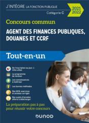 Concours commun agent des finances publiques, douanes et ccrf - 2020-2021 - categorie c -tout-en-un - Couverture - Format classique