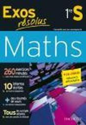 telecharger Exos Resolus – Maths – 1ere S livre PDF en ligne gratuit