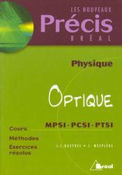 Precis optique mpsi-pcsi - Intérieur - Format classique