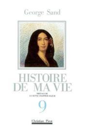 Histoire de ma vie t9 - Couverture - Format classique
