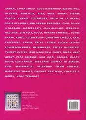La Mode Au Xx Siecle - 4ème de couverture - Format classique