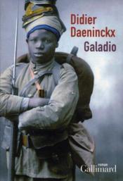 Galadio - Couverture - Format classique
