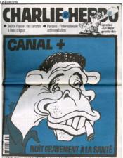 Charlie Hebdo N°377 - Canal + Nuit Gravement A La Sante - Couverture - Format classique