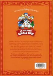 La dynastie Donald Duck ; INTEGRALE VOL.5 ; 1954-1955 ; les Rapetou dans les choux ! et autres histoires - 4ème de couverture - Format classique
