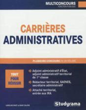 Carrières administratives - Couverture - Format classique
