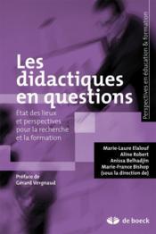 Les didactiques en questions - Couverture - Format classique