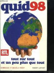 Quid 1998 - Couverture - Format classique