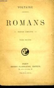 Romans. Edition Complete. Tome 2. - Couverture - Format classique
