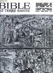 Bible Et Terre Sainte, N° 151, Mai 1973 - Couverture - Format classique
