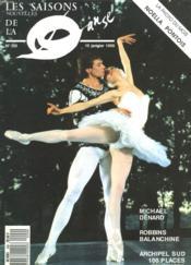 Revue Les Saisons De La Danse N°209, 15 Janvier 1990. Michel Bernard / Robbins Balanchine / Archipel Sud... - Couverture - Format classique