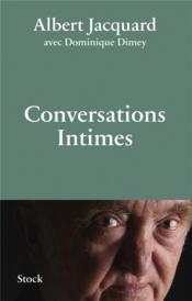 Conversations intimes - Couverture - Format classique