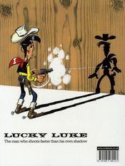 Lucky Luke : Billy the Kid - 4ème de couverture - Format classique