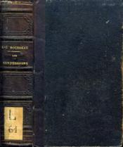 Les Confessions De J.-J. Rousseau - Couverture - Format classique