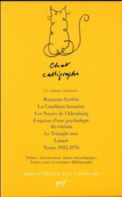 La condition humaine et autres écrits - 4ème de couverture - Format classique