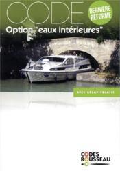 Code Rousseau ; code eaux intérieures (édition 2019) - Couverture - Format classique