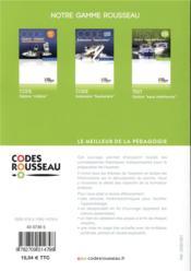Code Rousseau ; code eaux intérieures (édition 2019) - 4ème de couverture - Format classique