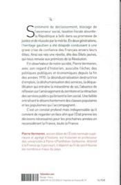 La France qui déclasse ; les Gilets jaunes, une jacquerie au XXIe siècle - 4ème de couverture - Format classique
