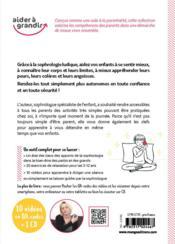 Sophrologie et activités ludiques ; 30 exercices de relaxation pour les 3-12 ans - 4ème de couverture - Format classique