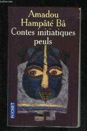 Contes initiatiques peuls - Couverture - Format classique