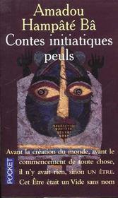 Contes initiatiques peuls - Intérieur - Format classique