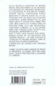 L'Odeur Froide De La Pierre Sacree - 4ème de couverture - Format classique