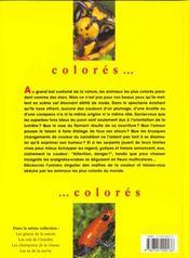 Les Maitres De La Couleur - 4ème de couverture - Format classique