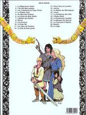 Thorgal T.10 ; le pays Qâ - 4ème de couverture - Format classique