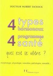4 types hormonaux, 4 programmes santé : quel est le vôtre ? - Intérieur - Format classique