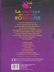 La cuisine des apprentis sorciers - 4ème de couverture - Format classique