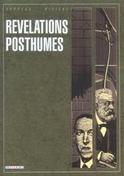 Révélations posthumes - Intérieur - Format classique