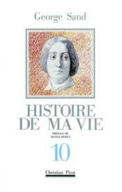 Histoire de ma vie t10 - Couverture - Format classique