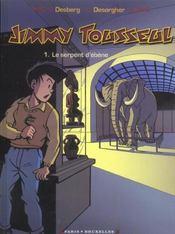 Jimmy Tousseul t.1 ; le serpent d'ébène - Intérieur - Format classique