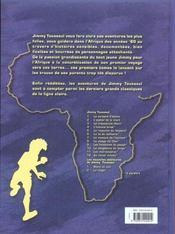 Jimmy Tousseul t.1 ; le serpent d'ébène - 4ème de couverture - Format classique