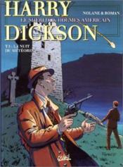 Harry Dickson t.5 ; la nuit du météore - Couverture - Format classique