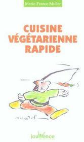 Cuisine végétarienne rapide - Intérieur - Format classique