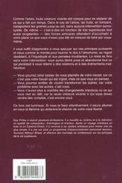 Lacher Prise ; La Cle De La Transformation Interieure - 4ème de couverture - Format classique