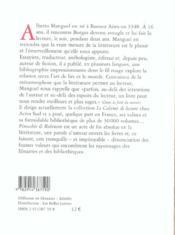 Pinocchio & Robinson - 4ème de couverture - Format classique