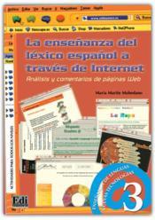 La Ensenanza Del Lexico Espanol - Couverture - Format classique