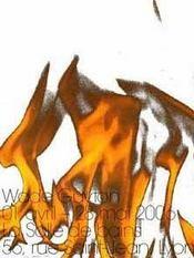 Wade Guyton - Intérieur - Format classique