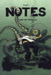 Notes t.4 ; songe est mensonge - Couverture - Format classique
