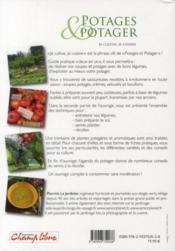 Potages et potager ; je cultive, je cuisine - 4ème de couverture - Format classique