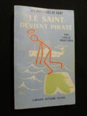 Le saint devient pirate - Couverture - Format classique