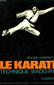 Le Karate. - Couverture - Format classique