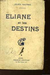 Eliane Et Les Destins - Couverture - Format classique