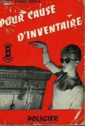 Pour Cause D'Inventaire - Couverture - Format classique