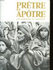 Pretre Et Apotre Vie Interieure Et Apostolat - N°501 - Couverture - Format classique