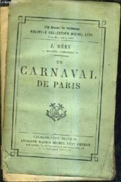 Un Carnaval De Paris. - Couverture - Format classique