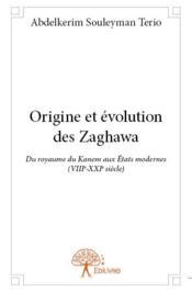 Origine et évolution des zaghawa ; du royaume du Kanem aux Etats modernes (VIIIe-XXIe siècle) - Couverture - Format classique